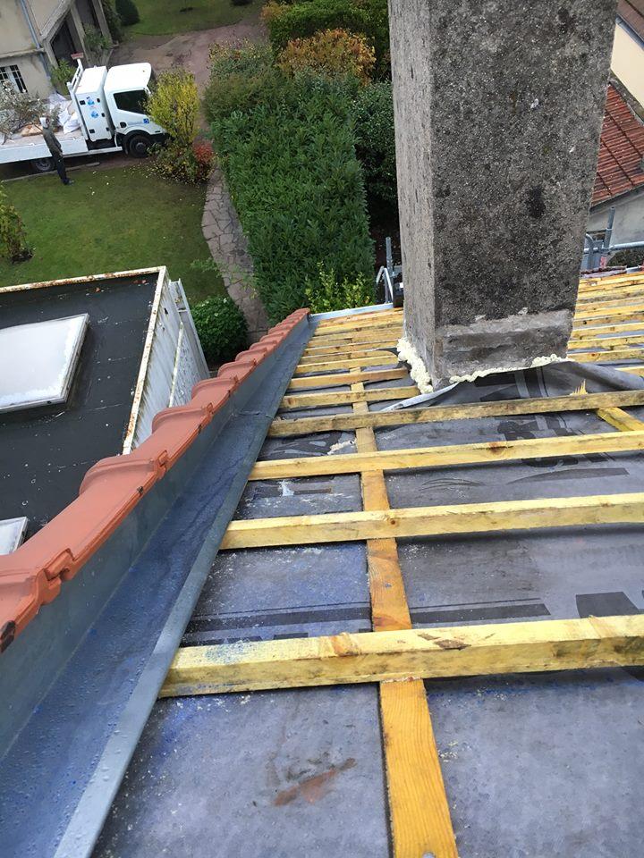 R fection de toiture sartrouville 78500 entreprise de couverture isolation toiture for Refection toiture