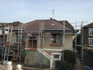 Rénovation de toiture aux Pavillons-sous-Bois (93320)