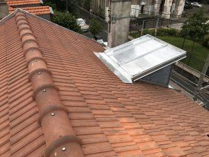 Couverture tuiles mécanique avec terrasson zinc et Vélux à Joinville-le-Pont (94340)